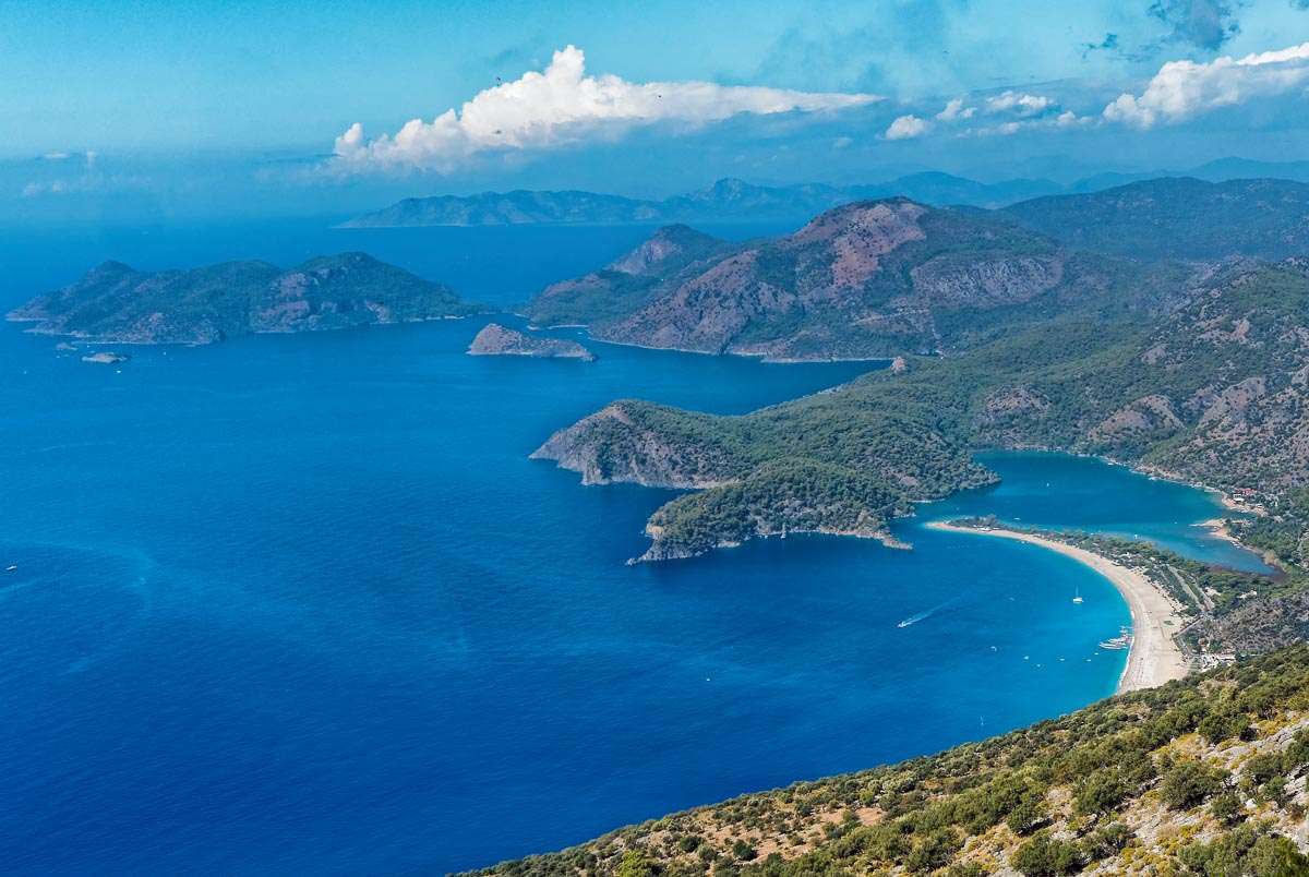 Oludeniz, southwest coast of Turkey