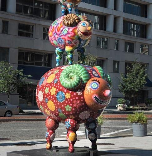 Hung Yi Sculptures, Washington DC